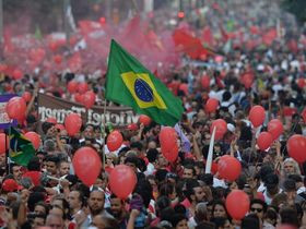 Brazilian pro-government protests signal growing political chaos