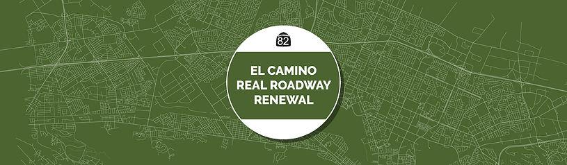 El Camino Real Roadway Renewal Logo Banner