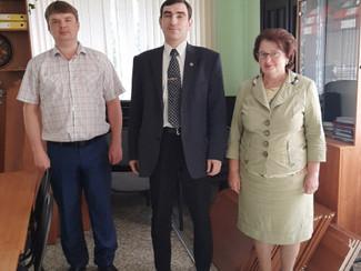Подарок от МГО ВОИР Павлово-Посадскому филиалу РГСУ
