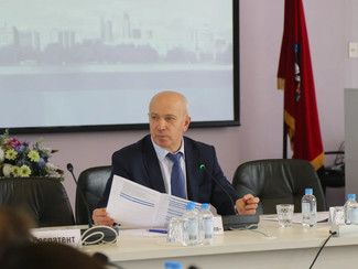 The extended meeting of the Organizing Committee of 23rd Moscow International Salon of Inventions an