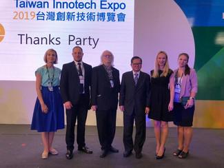 С 26 по 28 сентября 2019 года в городе Тайбэй (Республика Тайвань) проходила Международная выставка