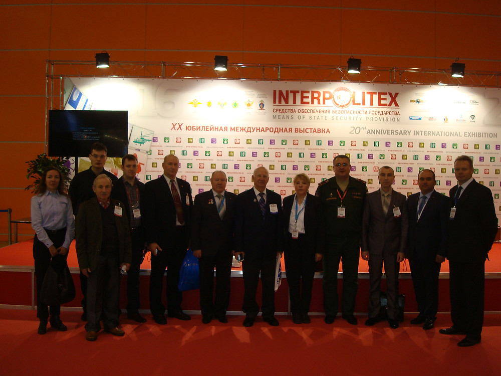"""Члены Международного инновационного клуба """"Архимед"""", участвовавшие в выставке """"Интерполитех-2016"""""""