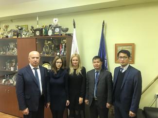 Представители Международного инновационного клуба «Архимед» и Комитета «Лига содействия оборонным пр