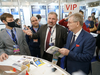 "Official opening ceremony of Moscow International Salon ""Archimedes-2021"""