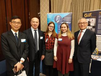 "International Innovation Club ""Archimedes"" taking part in VI Moscow International Engineering Forum."