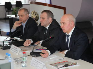 The enlarged meeting of the Organizing Committee of the anniversary  the 20th Moscow International S