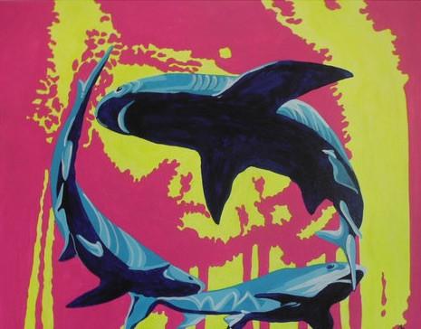 Tanzende Haie