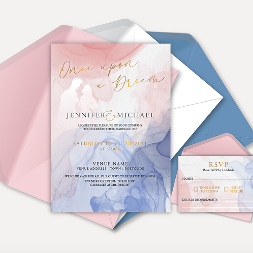 Disney Inspired Day Invitation & RSVP