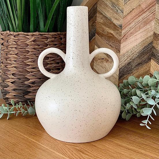 Natural Glaze Tall Vase
