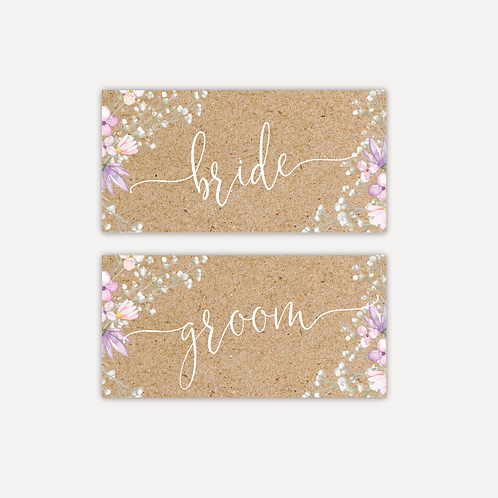 Rustic Bloom Placecards