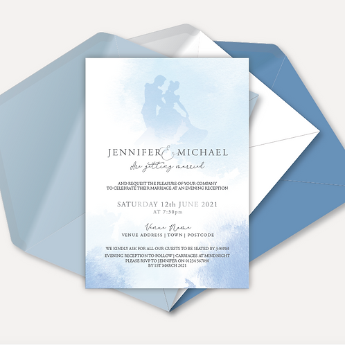 Disney Inspired Evening Invitation