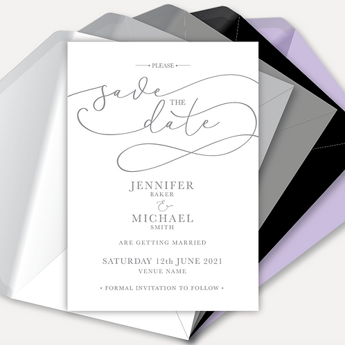 Simplicity Magnetic Save the Date