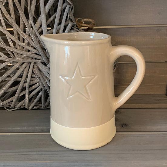 Star Cream Jug 15cm