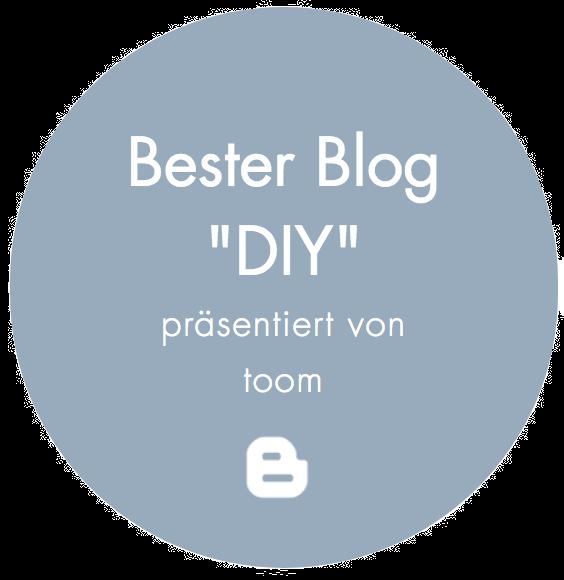 "Bester Blog ""DIY"""