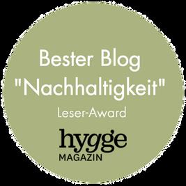"""Bester Blog """"Nachhaltigkeit"""""""