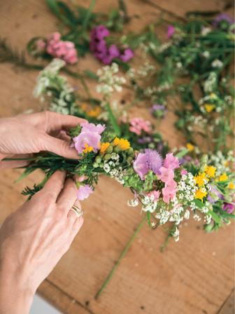 Mood Blumenkranz aus Druck_My little gre