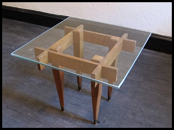 Mesa de Arrimo 'Midcentury'