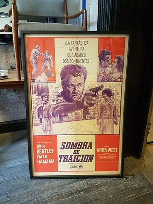 Posters Retro - 'Sombra de Traición'