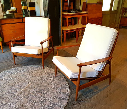 """Sillones Daneses """"Lounge Chair"""""""