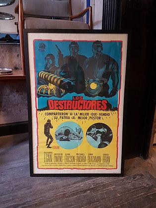 Posters Retro - 'Los Destructores'
