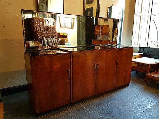Aparador 'Art Deco' con Gran Espejo Biselado
