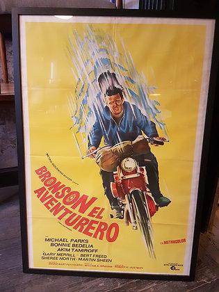 Posters Retro - 'Bronson el Aventurero'