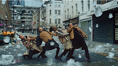 "Burberry 'Festive"" Directors Megaforce"