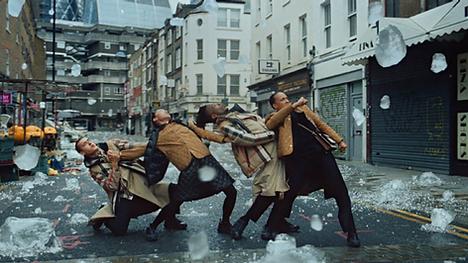 "Burberry 'Festive"" Directors Megaforce  DoP Katelin Arizemendi. Cinelab London were respon"