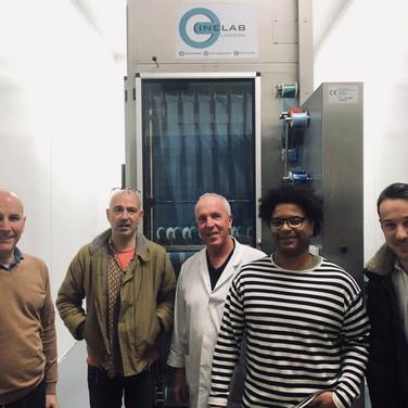 Cinelab London - Past Film Lab Visits
