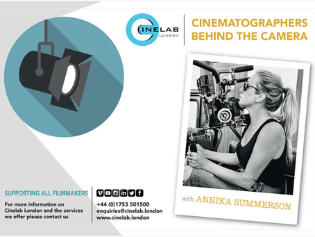 Cinematographers Behind the Camera: Annika Summerson