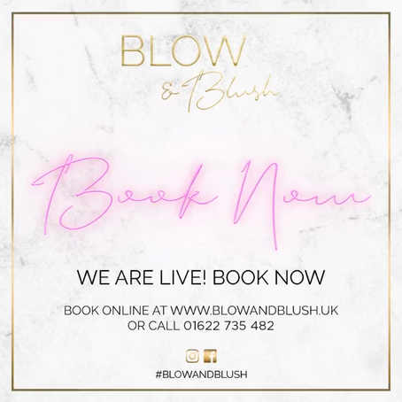 ONLINE BOOKING NOW LIVE!