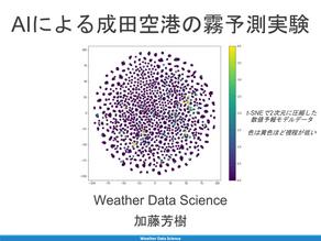成田空港の霧予測
