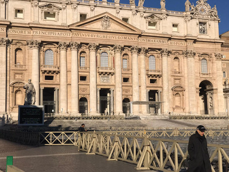Lockdown in Rome vanwege  Coronavirus -Covid 19