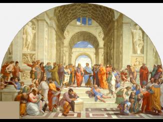 Expositie Rafael in Rome.
