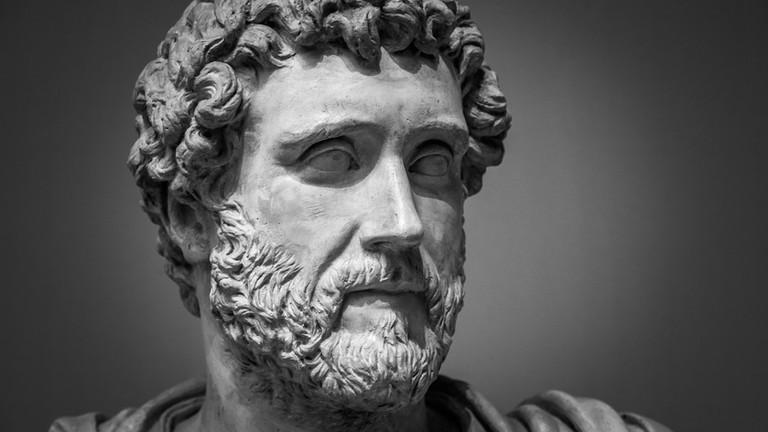Portrait of Roman emperor Antoninus Pius