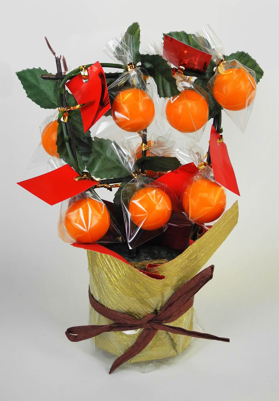 Kung Hei Fat Choi Tangerine Pot