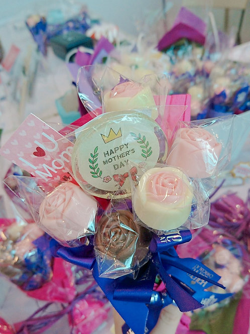 Chocolate Bouquet with Message (Custom Made)