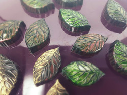 Christmas Minty Leaves