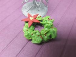 Green Tea Crunchy Christmas Wreath