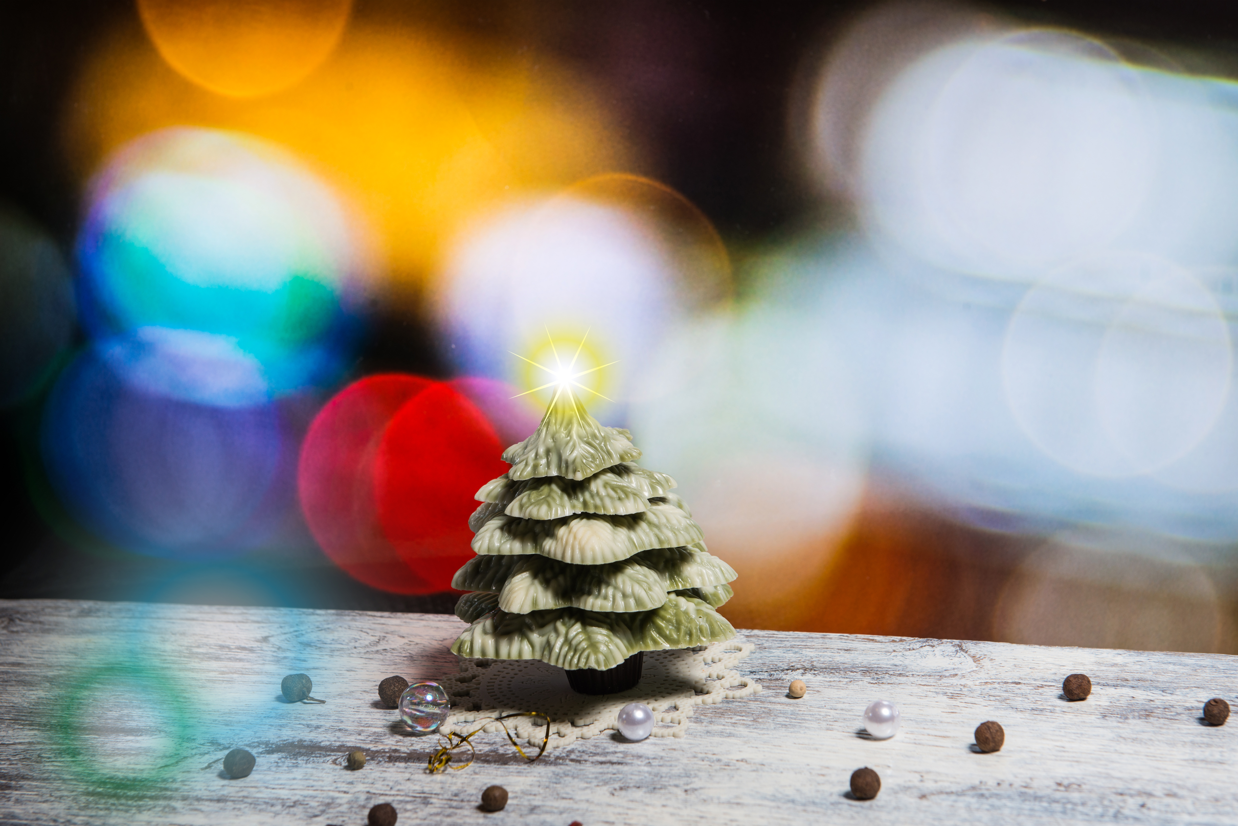 Christmas Tree Chocolate