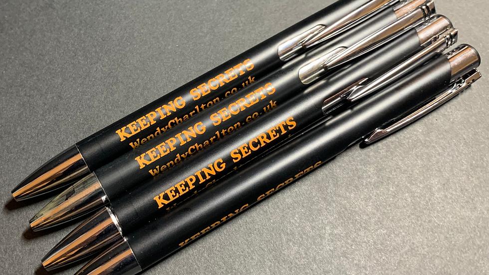 Executive Metal Ballpoint Pen - refillable