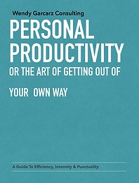 Personal Productivity - Or the Art of Getting Out of Your Own Way