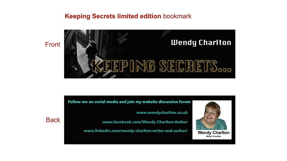Keeping Secrets Bookmark
