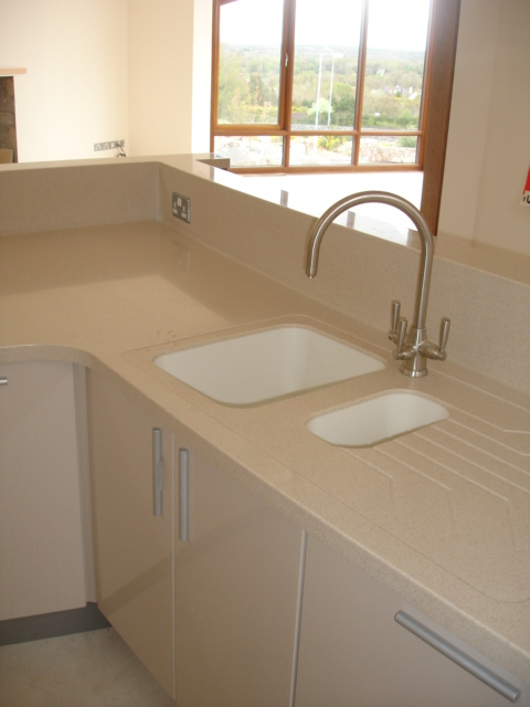 KitchenIsland Formed Sinks