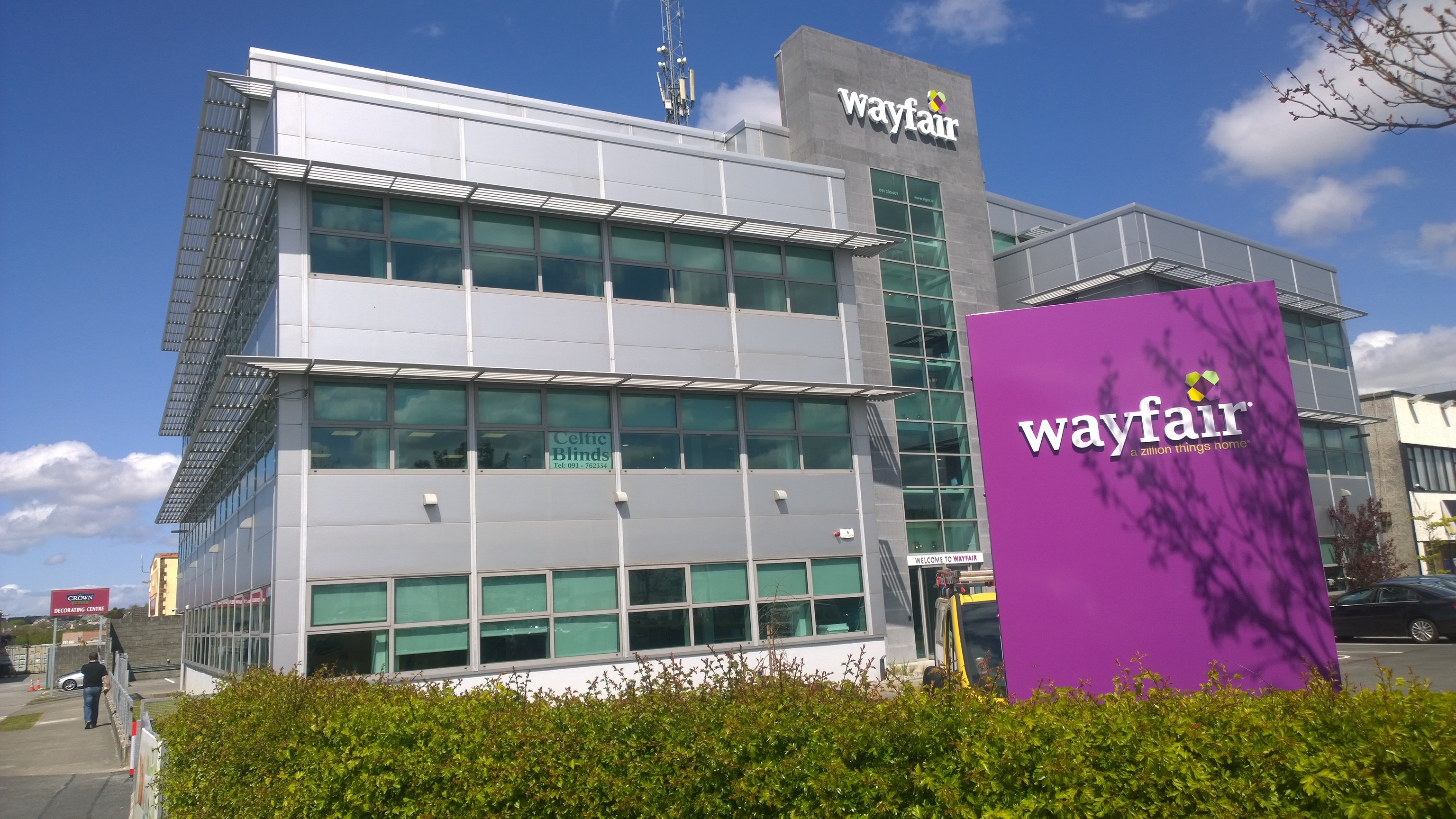 NEW WAYFAIR HQ GALWAY
