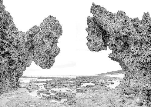 Okinawa VI  Copia fotográfica 33 X 48