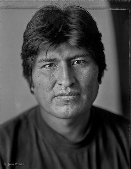 Evo Morales - 33 X 48 cm.