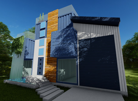 A little shipping container fun... ( Lake Livingston ) dm if you want the floor plans