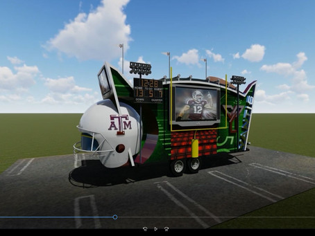 For a friend.   Tailgate party....  Next level