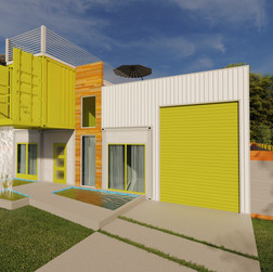 4 shipping containers